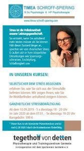Flyer Anti Stress Seminar