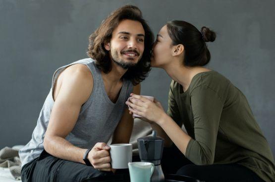 Flirten oder das Spiel um den Liebestrank