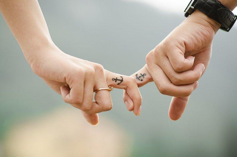Wie Sie auf Ihren Partner wirken, der Liebestest
